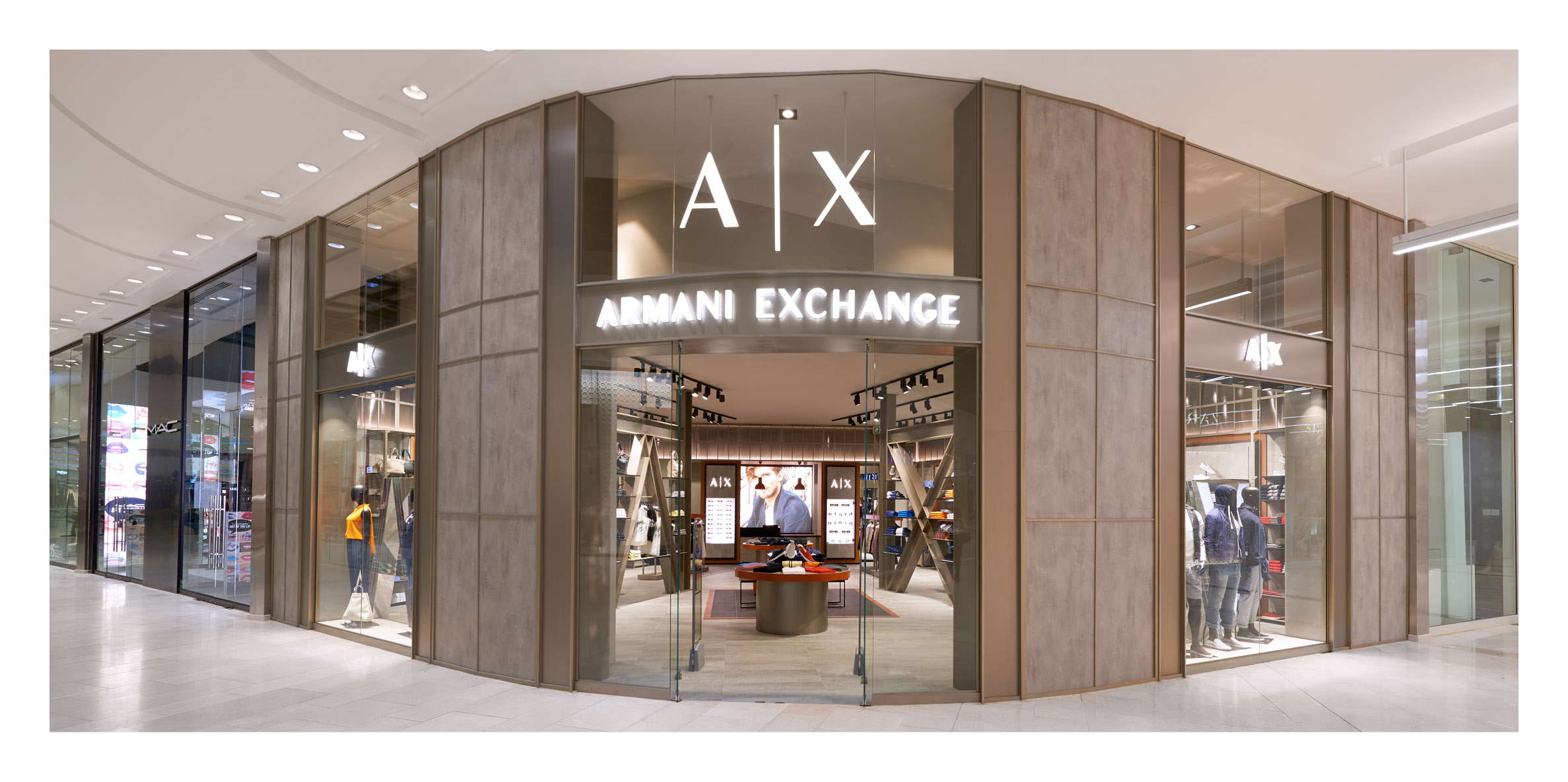 on wholesale great deals save off Armani Exchange Mall of Africa & Menlyn Mall